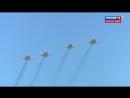 Новейшая российская авиация на параде Победы