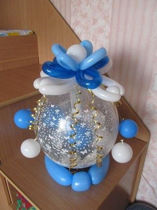 Оригинальное оформление дня рождения и подарка