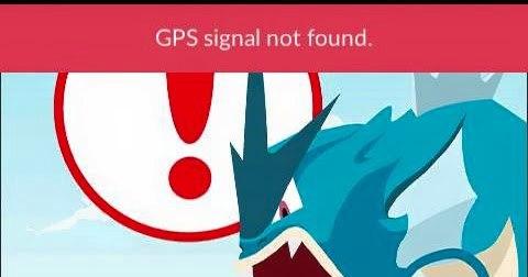 Pokemon Go: теряется GPS