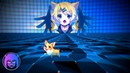 Miku Hatsune - Ievan Polkka VSNS Remix Music Visualization🖤🎶💎