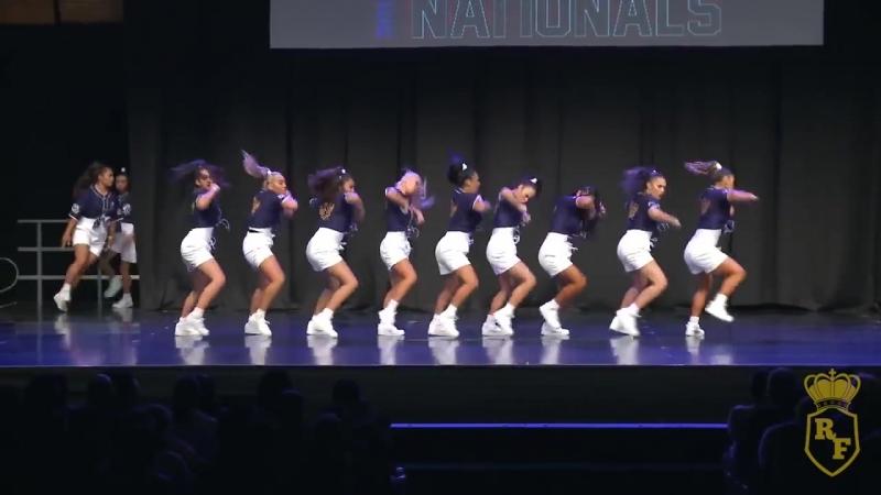 Зажигательные танцы от THE ROYAL FAMILY - Nationals 2018