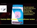 Carista OBDII bluetooth Adaptor review Christmas Giveaway