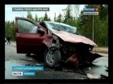 Три ДТП в Холмогорском районе за сутки