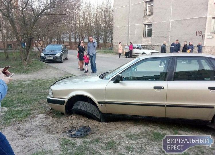 Накануне дня рождения водитель устроил гонки с ГАИ по Кобрину. Жёсткое видео погони