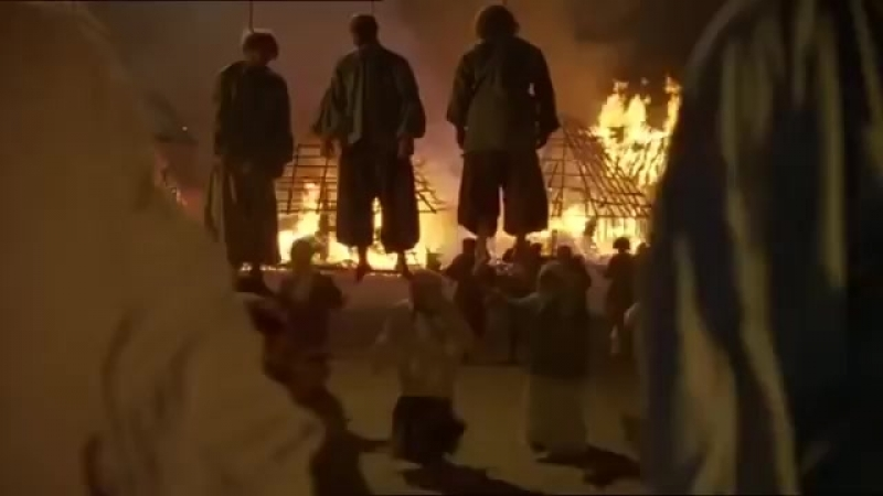 Огнем и Мечом Ярема убивает крестьян