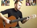 Де би я - С.Бабкин соло кавер на гитаре В.Трощинков уроки гитары Киев и скайп