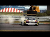 Audi R8 LMS Drifting in NFS Shift 2 Unleashed