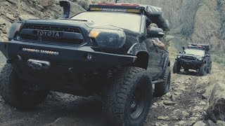 Toyota Tacomas Climbing Morrison Jeep Trail in Wyoming w Optima Batteries | 4K Video by Red Olive