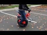 Ryno Motors бъявило о выпуске лимитированной серии одноколёсного самобалансирующего скутера Ryno п
