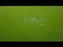 Winterbourne Stoke Down CROP CIRCLE 17 6 2018