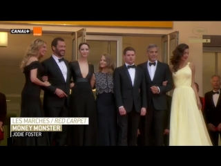 Red carpet Money Monster by Jodie Foster, Cannes 2016