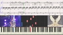 Белые ангелы - Кожикина Алиса Голос- ДетиНоты piano cover
