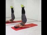 Упражнения для стройных ног и красивого пресса
