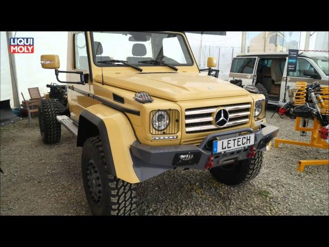 Wohnmobile und Basisfahrzeuge auf der Abenteuer Allrad 2014 Onlinemotor