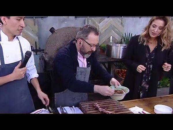 Gerardo Rozín cocina una trenza de vacío - La Peña de Morfi