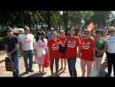 23.09.18 дольщики ЖК МИР и ЗАРЯ , напомнили о том, что проблемы всё ещё не решены и люди без жилья.