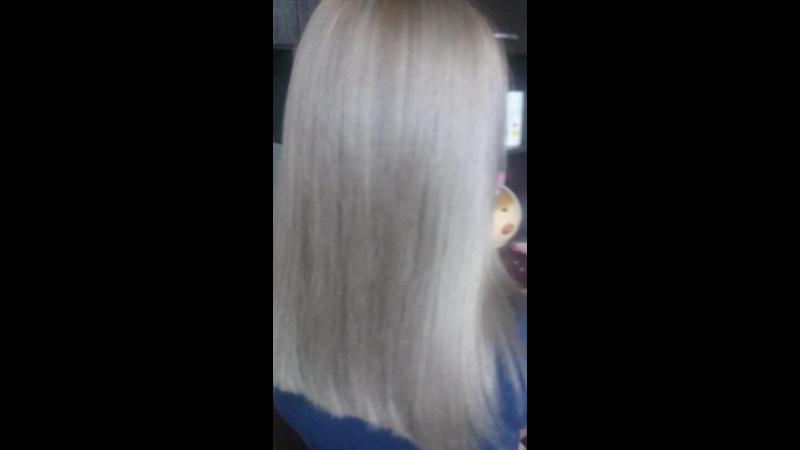 Пепел блонд