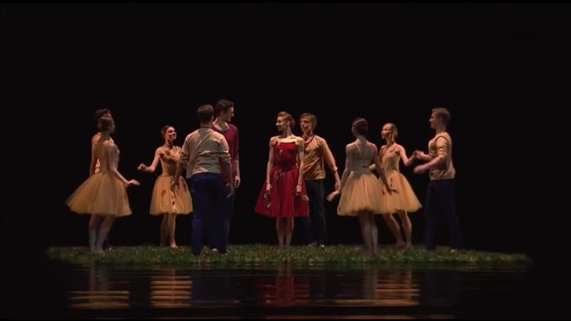 The Four Seasons - Времена года [Choreography: Ilya Zhivoy / Илья Живой] - Ekaterina Kondaurova Roman Belyakov - Mariinsky 2017