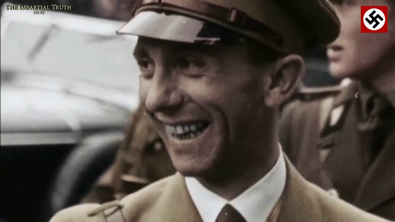 Joseph Goebbels - Est-ce païen ? Courtoisie de Mr Boy Führer