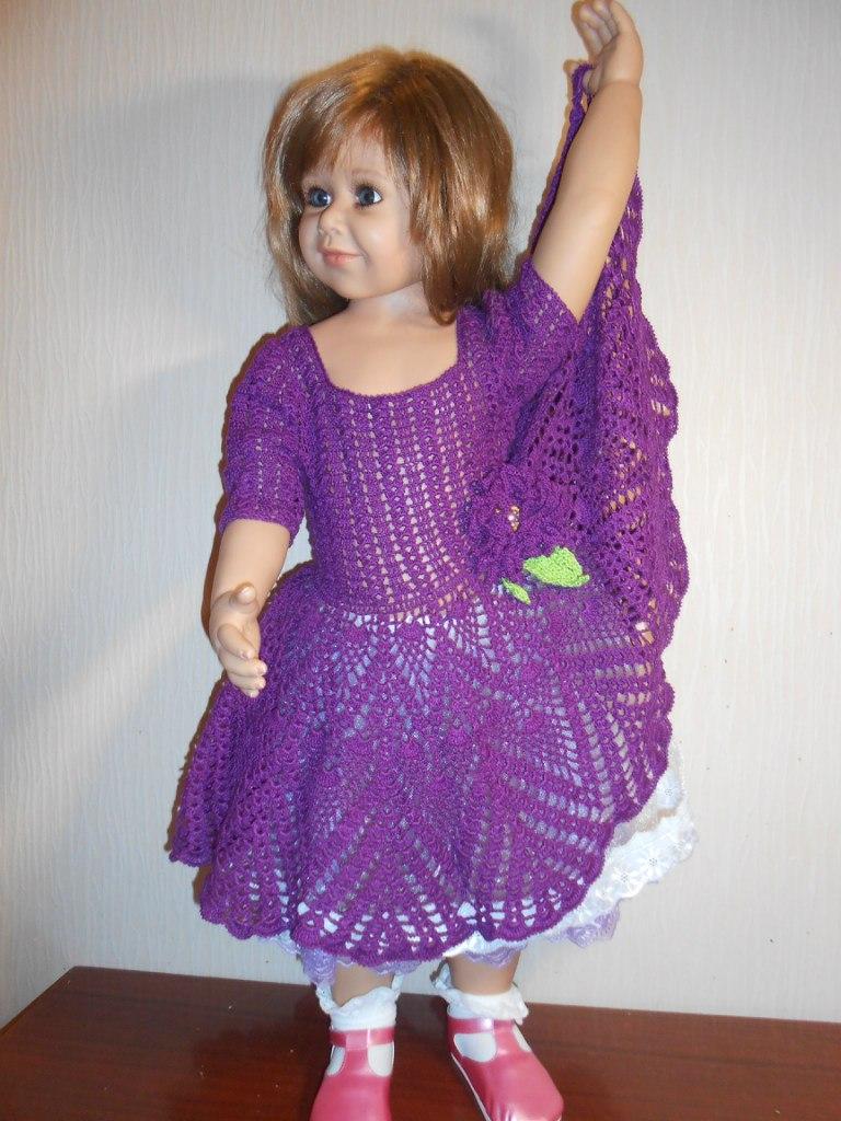 платье крючком филейное вязание летние модели крючком - Комментарии Красиво