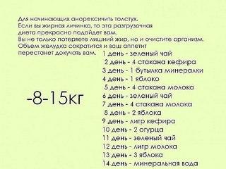 Офигенная диета.(Тощая)Диета на любой вкус. | ВКонтакте