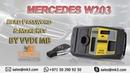 MK3 MERCEDES W203 READ PASSWORD MAKE KEYS BY VVDI MB-XHORSE