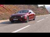 Mercedes-Benz CLS тест-драйв с Никитой Гудковым