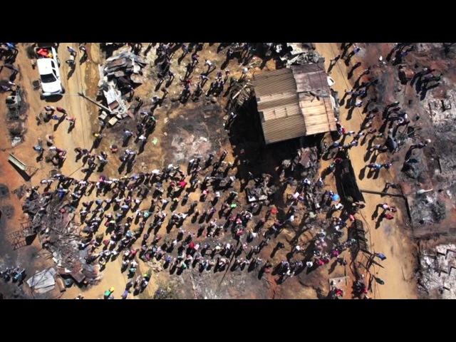 Video Aéreo realizado en Cerro Ramaditas Afectado por Incendio de Valparaíso