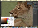 Photoshop Wildlife Painting Demo by Aaron Blaise