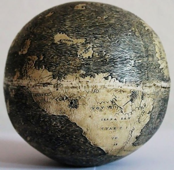 Самый старый глобус, которому 510 лет