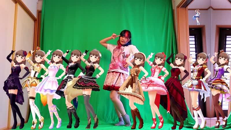 佐久間まゆちゃん×11と「お願い!シンデレラ」を踊ってみた sm34647360
