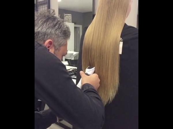 Düz saç kesimi