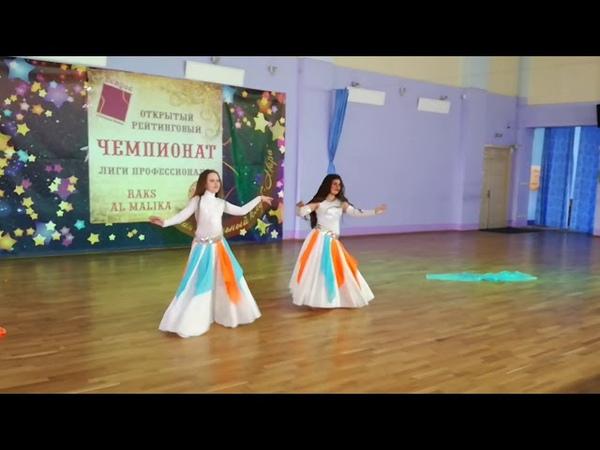 Детская студия Nadi Vlada Malika Беднякова Анна, Нагапетян Карина-Дуэт классика