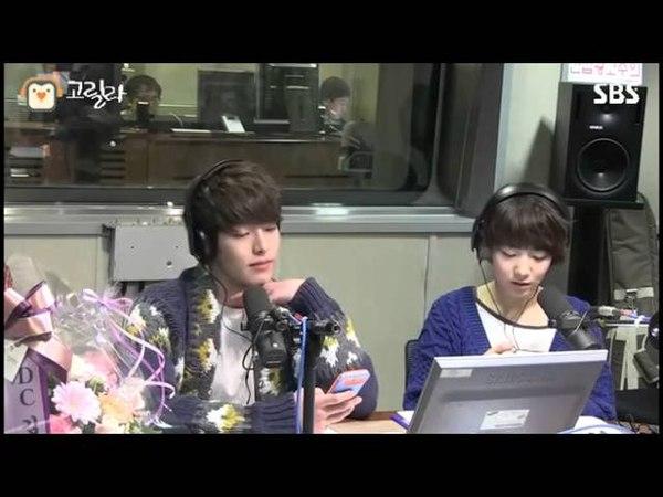 SBS 붐의 영스트리트 김우빈의 '보고싶다' 문자에 이종석 반응은