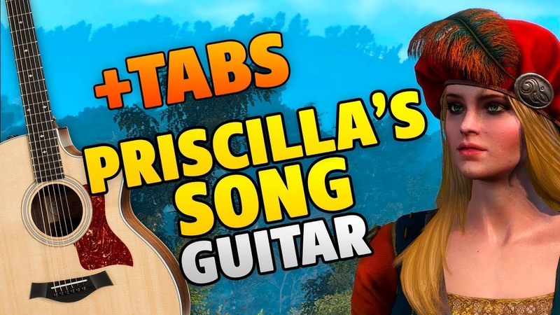 Witcher 3 Wild Hunt – Priscillas Song | The Wolven Storm (fingerstyle guitar cover)