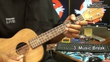 How To Play GHOSTBUSTERS Theme Ray Parker UKULELE Melody Lesson EricBlackmonMusicHD Halloween