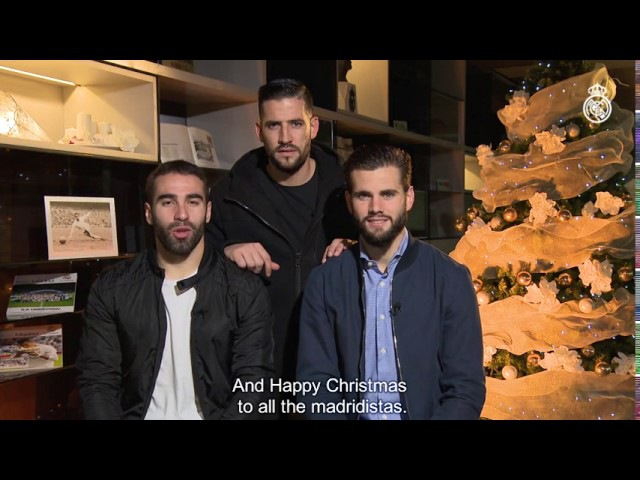 Happy holidays from Casilla, Carvajal and Nacho!