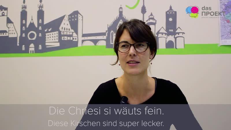 Швейцарский немецкий (Schweizerdeutsch) Teil 3