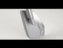 KiWAV - Magazi Cleaver CNC Aluminum Motorcycle Mirrors Universal Gray