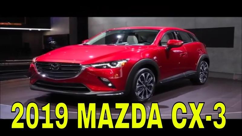 2019 MAZDA CX-3 | Genel bakış iç dış tasarım tanıtımı