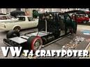 Volkswagen VW T4 flatbed Bus Kick ass build by Modcars Craftpoter Built Story Overhaulin