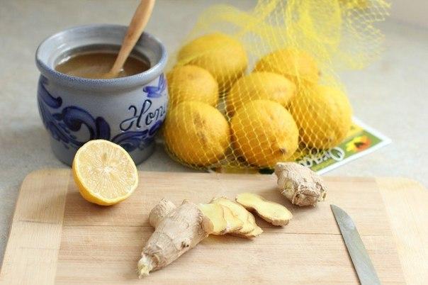 Лимонно-медовая имбирная смесь