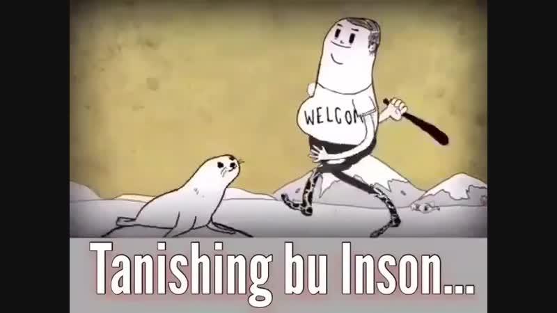 Tanishing, bu inson...