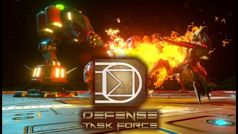 Defense Task Force Sci Fi Tower Defense