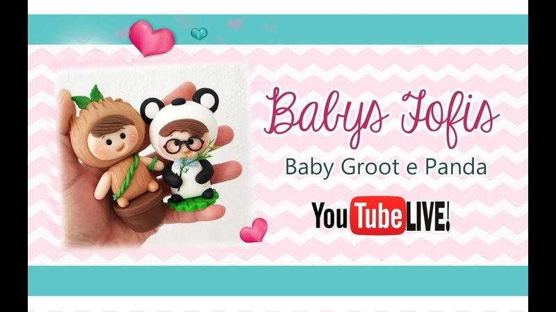 LIVE Baby Fofis Groot e Panda