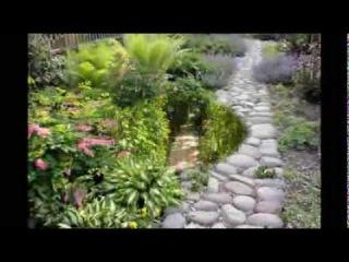 Вот такие садовые дорожки у наших дачников на даче!