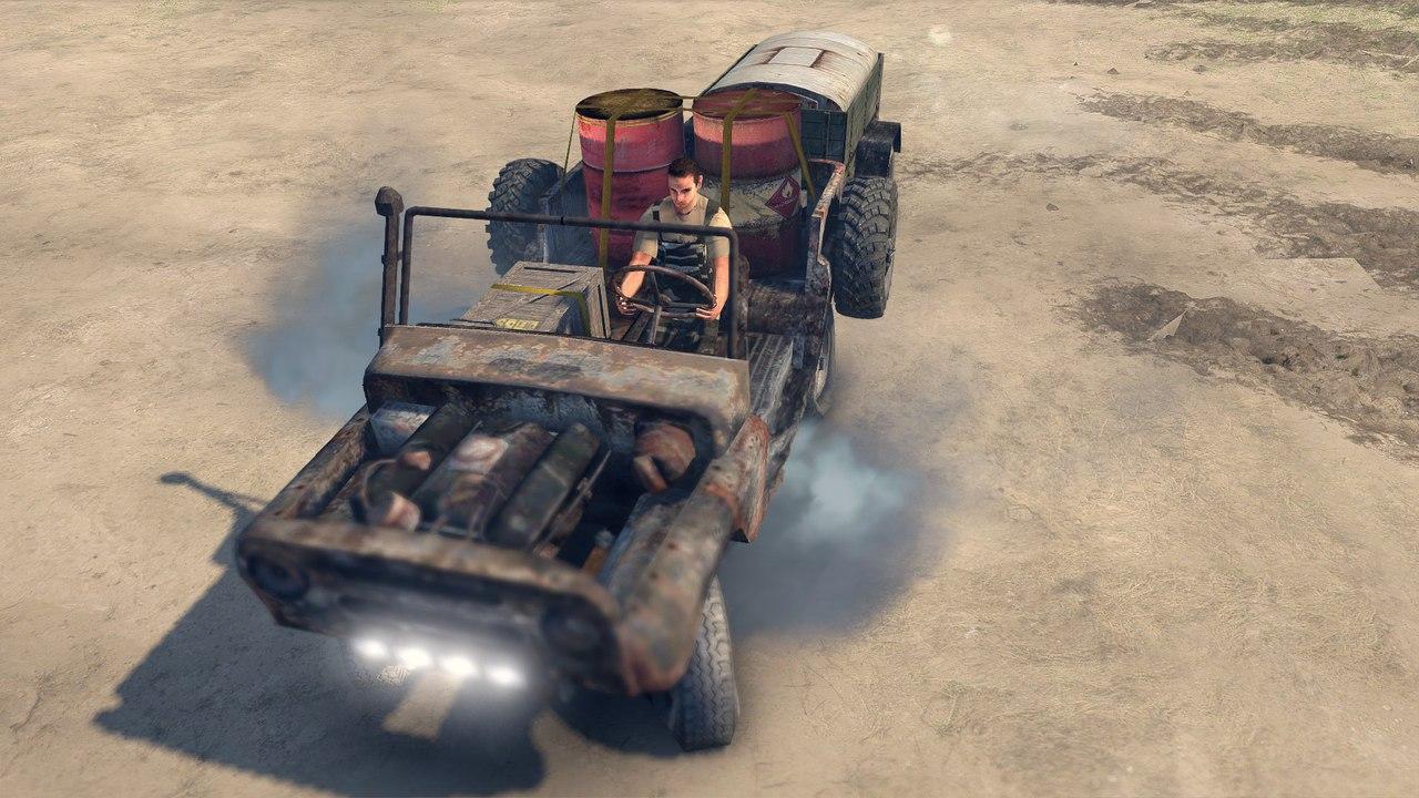 Ржавый уаз для Spintires - Скриншот 2