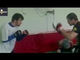 Тренировки Забита Магомедшарипова - базовый стиль Ушу Саньда (vk.com/sanda42)