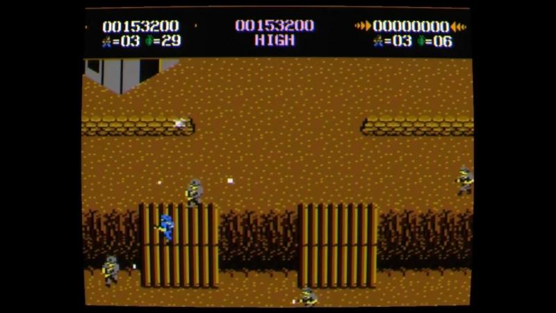 Компьютерные игры 80-х Atari 7800 «Commando»