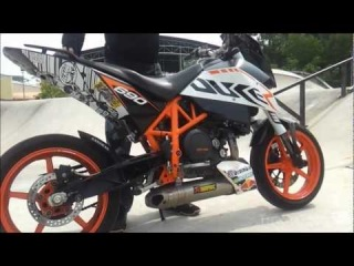 2011 KTM Duke 690 Akrapovic Full Race Exhaust